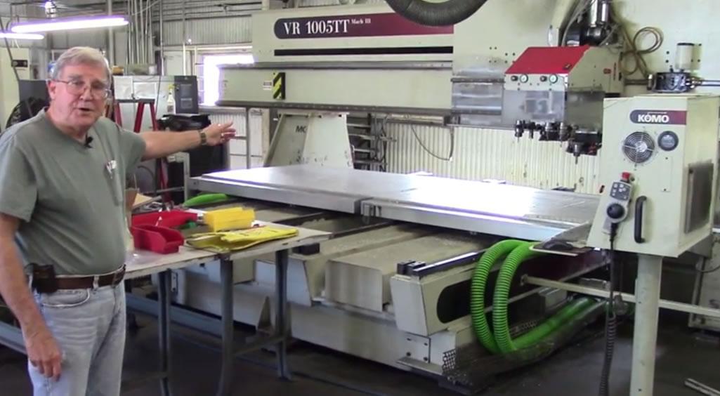 komo panel milling